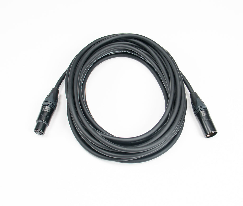 Elite Core CSM2-NN Stage Grade Ultra Quiet and Ultra Durable Mic Cable - 2'
