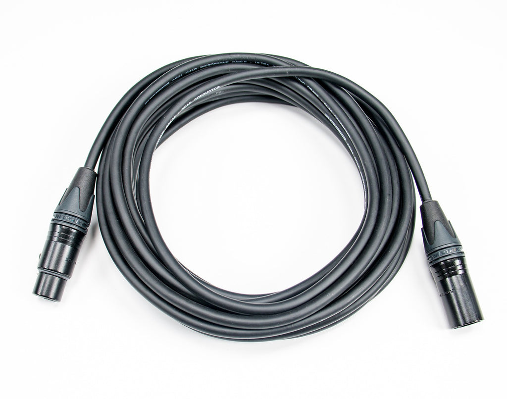 Elite Core CSM4-NN Studio Grade Ultra Quiet and Ultra Durable Quad Mic Cable - 30'