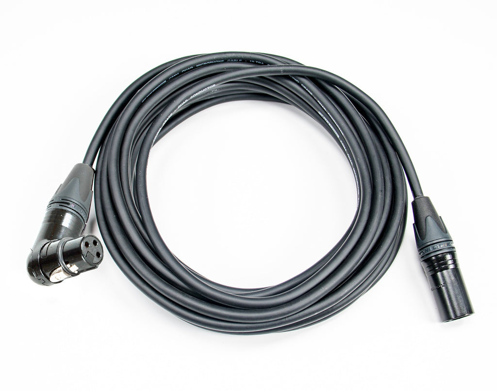 Elite Core CSM4-RAFN Quad Conductor Studio Grade Ultra Quiet and Ultra Durable Mic Cable - 30'
