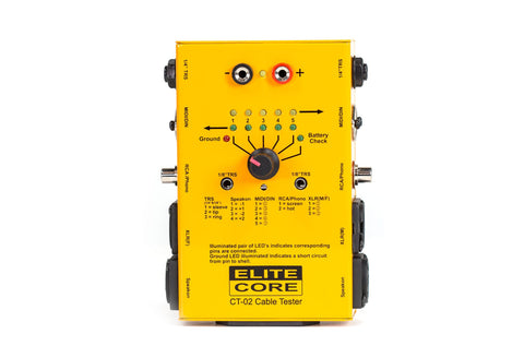 Elite Core Audio CT-02 Cable Tester