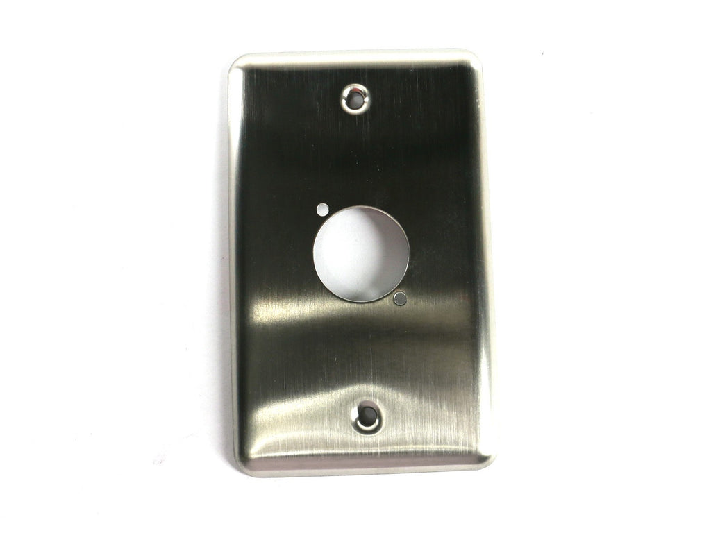 "OSP D-1-BLANK Single Gang Plate with 1 Series ""D"" Hole"