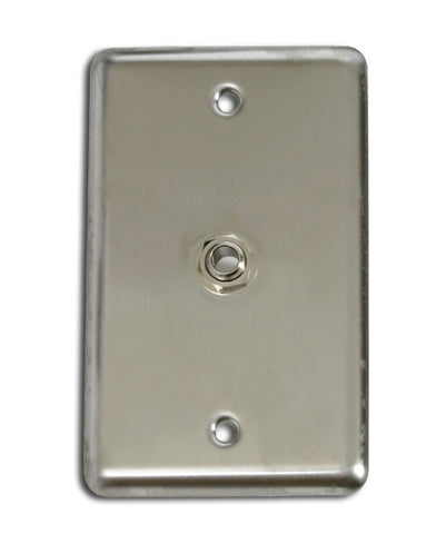 "OSP D-1-1/4S Single Gang Wall Plate with 1 1/4"" TRS -"