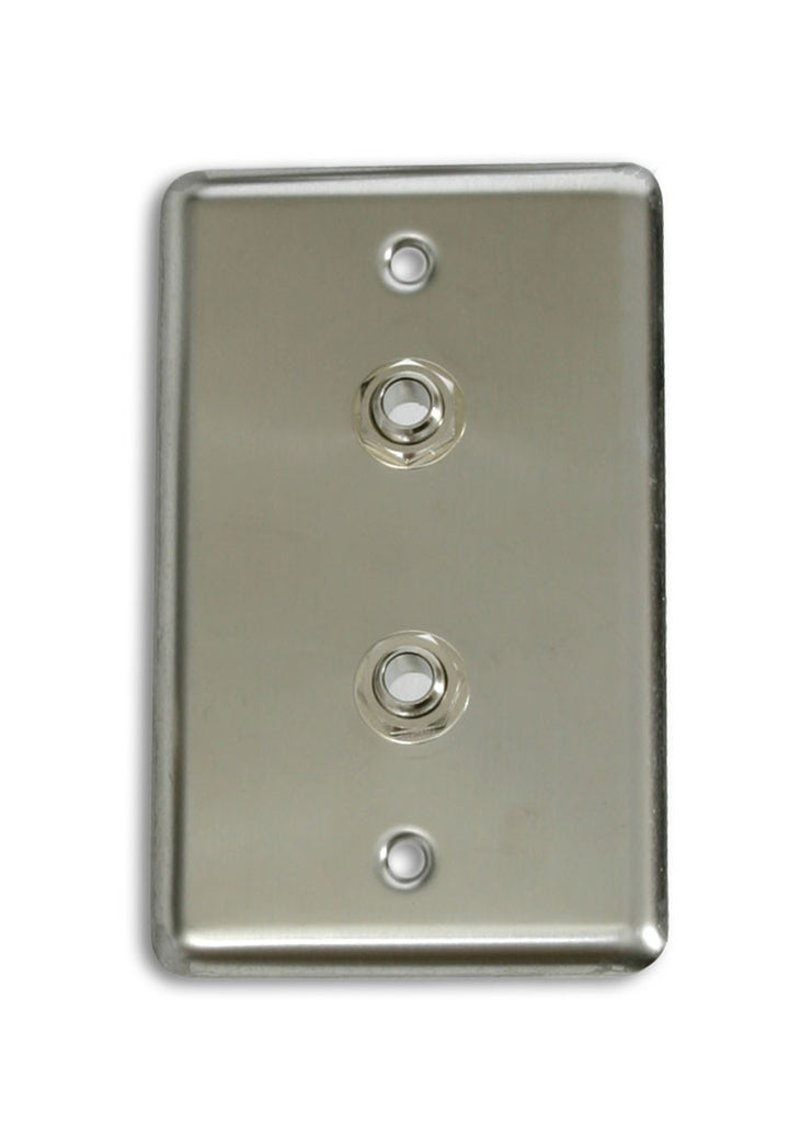 "OSP D-2-1/4S Single Gang Duplex Wall Plate with 2 1/4"" TRS -"