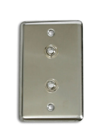 "OSP D-2-1/4 Single Gang Duplex Wall Plate with 2 1/4"" -"