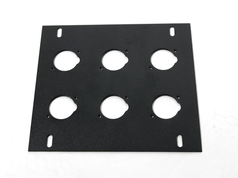 Elite Core FB-PLATE6 Unloaded Plate for Recessed Floor Box