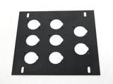 Elite Core FB-PLATE8 Unloaded Plate for Recessed Floor Box