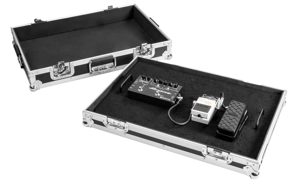 OSP FX1624 24in Guitar Effects Pedal Board with ATA Case