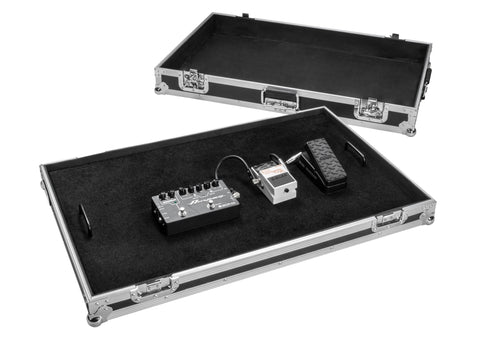 OSP FX2032 32in Guitar Effects Pedal Board with ATA Case