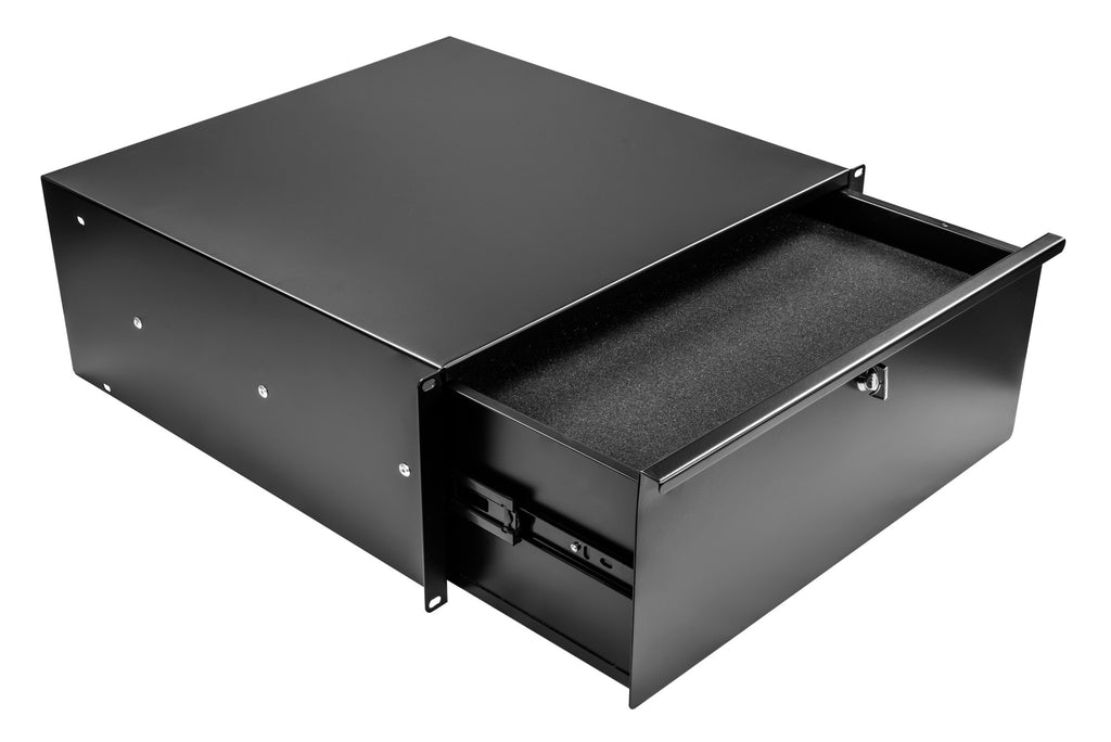 OSP Cases HYC-3UD-CFI 3 Space Loaded Rack Drawer with Cubed Foam Insert