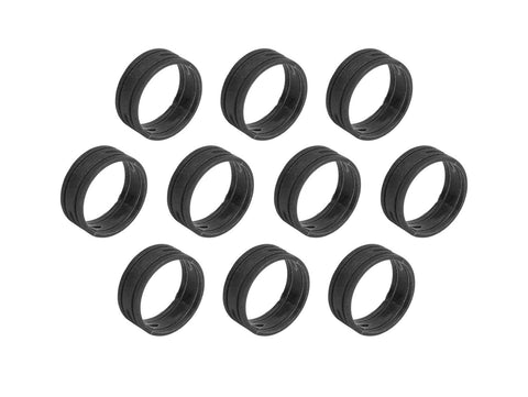 SuperFlex GOLD SFC-BAND-BLACK-10PK Colored ID Rings