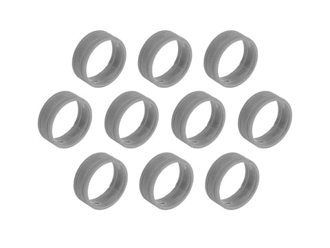 SuperFlex GOLD SFC-BAND-GREY-10PK Colored ID Rings
