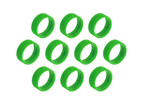 SuperFlex GOLD SFC-BAND-GREEN-10PK Colored ID Rings