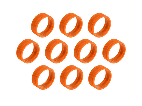 SuperFlex GOLD SFC-BAND-ORANGE-10PK Colored ID Rings