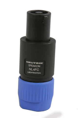 Neutrik NL4FC Speakon 4 Pole Connector Plug