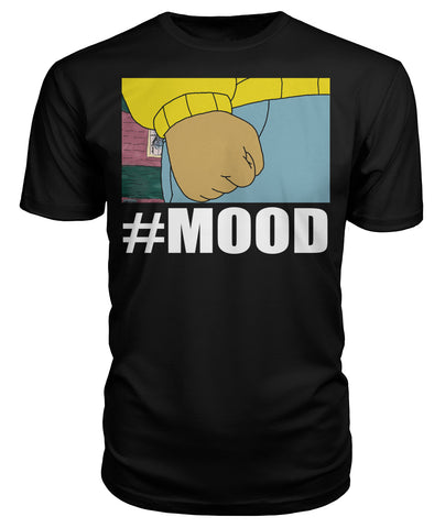 "Arthur ""Mood"" (In White)  Premium Unisex Tee"