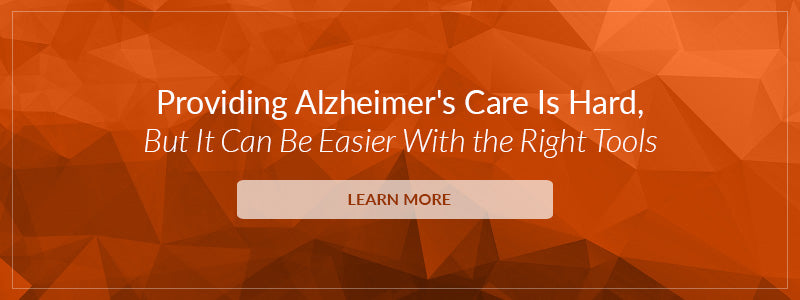 Providing Alzheimer's Care Is Hard