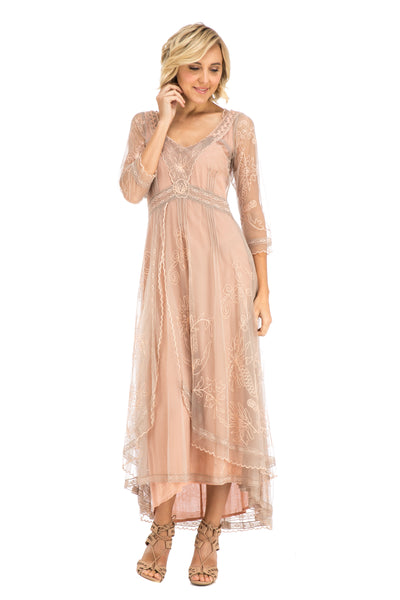 Nataya 40163 Downton Abbey Tea Party Gown in Quartz