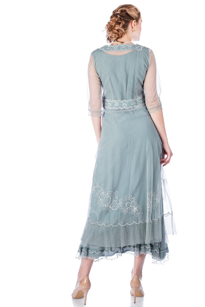 Nataya Onegin 40701 Aqua Dress