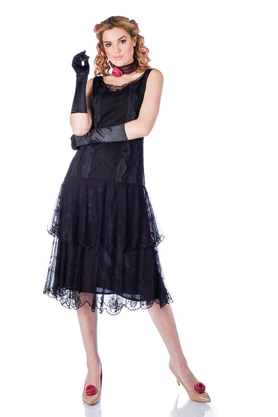 Nataya Eva AL-282 Dress in Black