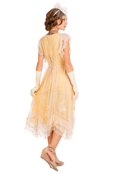 Nataya Olivia AL-284 Lemon Dress