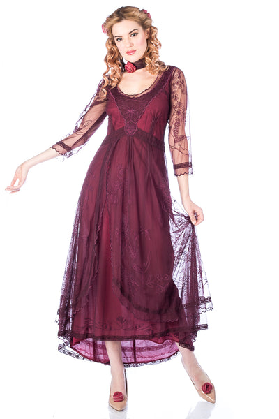 Nataya 40163 Downton Abbey Ruby Tea Party Gown