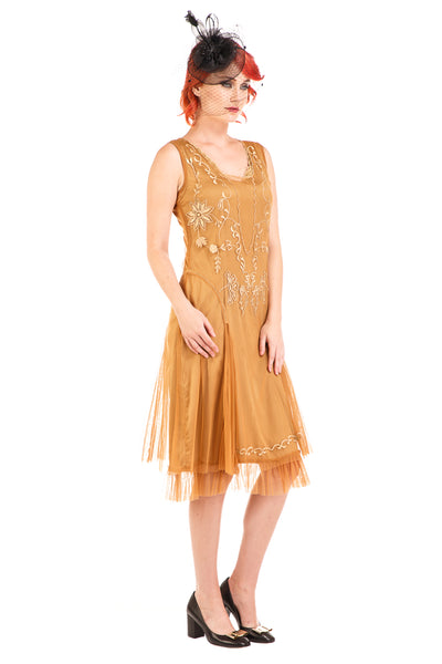 Nataya Tara AL-254 Bronze Dress