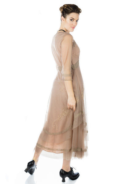 Nataya  Samantha CL-163 Sand Dress