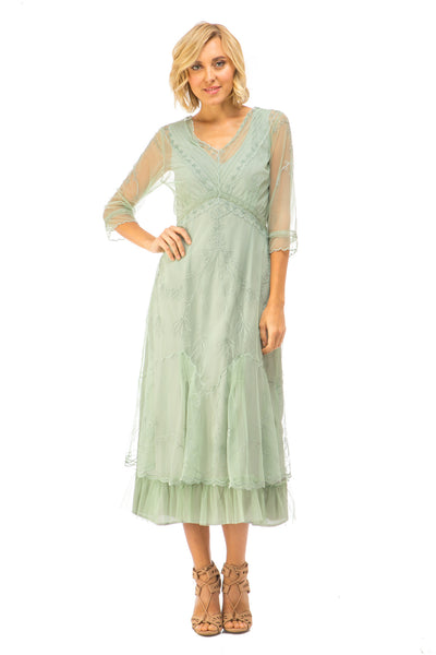 Nataya Sophia CL-509 Moss Dress