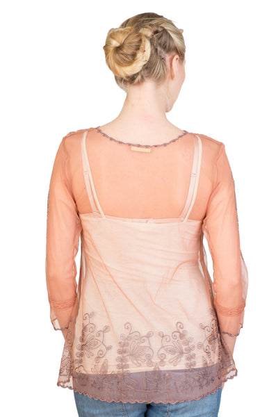 CT-591 Nataya Vintage Lace Nataya Rose Top