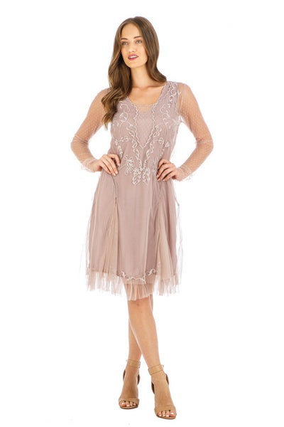 Nataya Serenity AL-252 Amethyst Dress