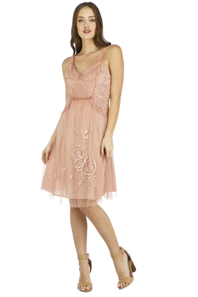 Nataya Alana AL-216  Soft Pink Dress