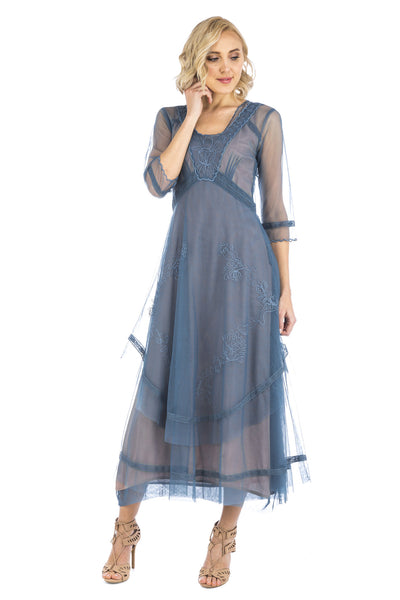 Nataya Samantha CL-163 Azure Dress
