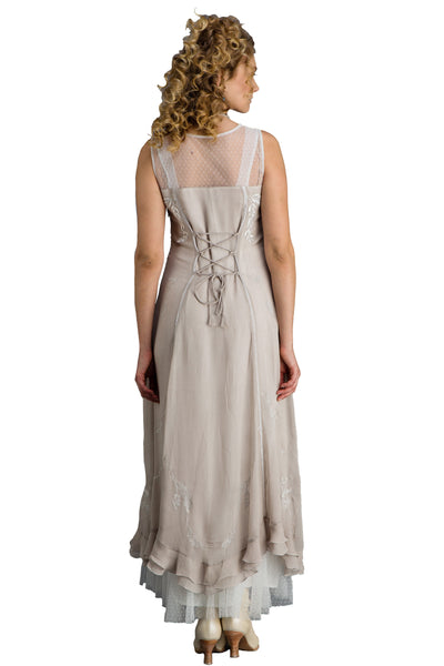 Nataya CL-069 Silver/Grey Gown