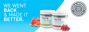 <b>New and Improved Vegan BCAA Flavors</b>