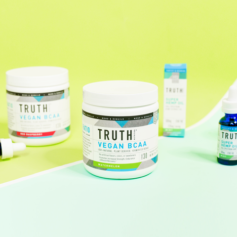 Truth Nutrition Vegan BCAAs and Hemp Oil