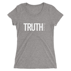 Ladies' Truth t-shirt - White Logo