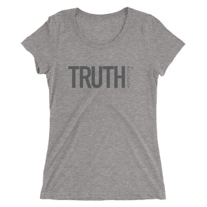 Ladies' Truth t-shirt - Black Logo