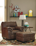 Ashley Bladen chair and ottoman