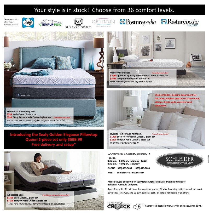 Shop American Made Mattresses And Adjustable Beds Ad Page
