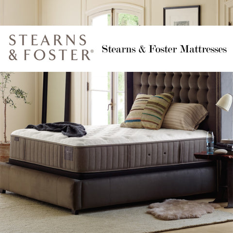 Link to Stearns and Foster mattresses at Schleider Furniture Company