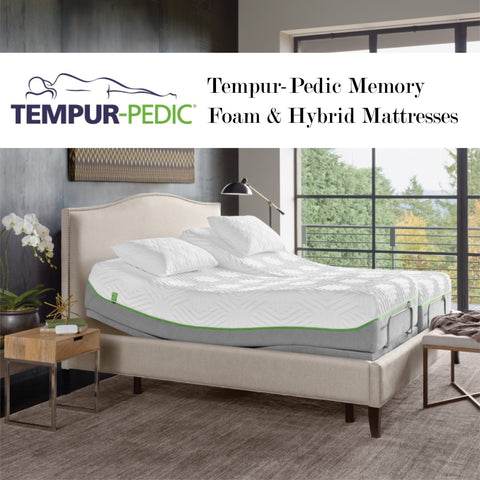 Link to Tempur-Pedic mattresses and Schleider Furniture Company