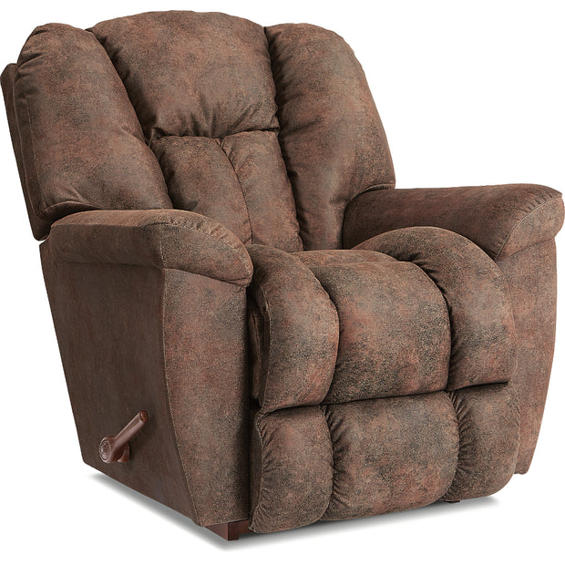 La-Z-Boy Maverick Power Rocking Recliner With Headrest and Lumbar