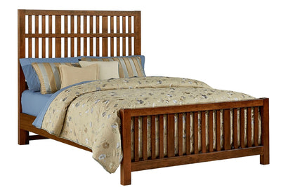 Artisan Choices Slatted Bed - Queen
