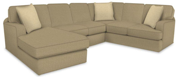 England Furniture Malibu 4-Piece Sectional,England,Sectional,schleider-furniture-company