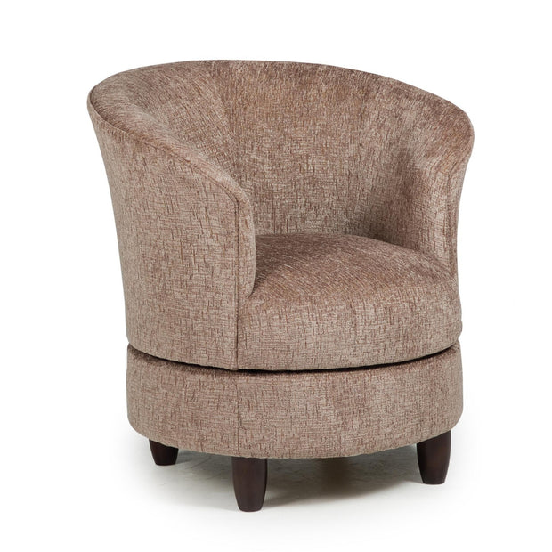 Dysis Swivel Barrel Chair - 700 Covers,Best Home Furnishings,Chair,schleider-furniture-company
