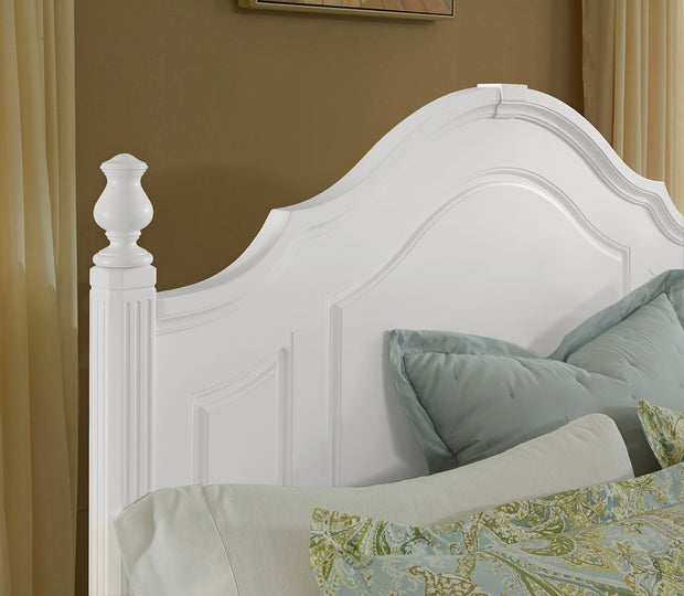 French Market Poster Headboard - Soft White,Vaughan-Bassett,Beds and Headboards,schleider-furniture-company