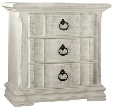 Rustic Hills Nightstand - Weathered White,Vaughan-Bassett,Nightstand,schleider-furniture-company
