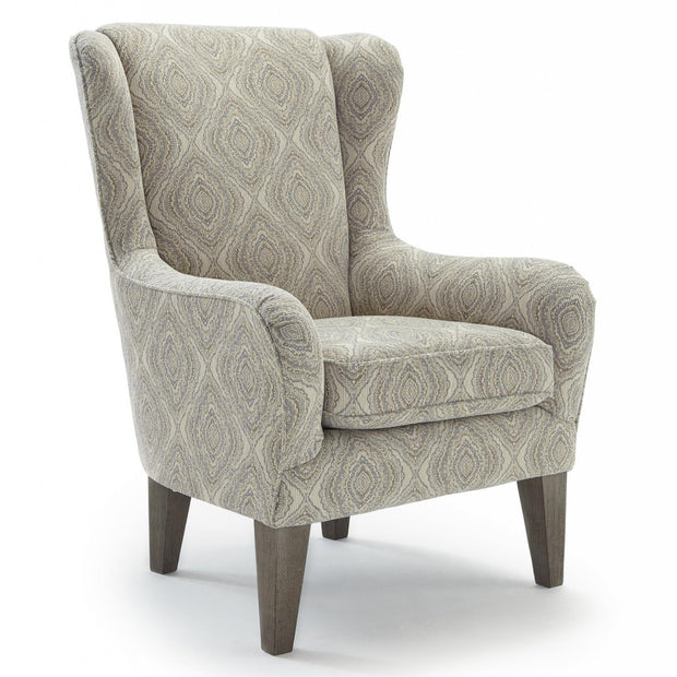 Lorette Wingback Chair - 700 Covers,Best Home Furnishings,Chair,schleider-furniture-company