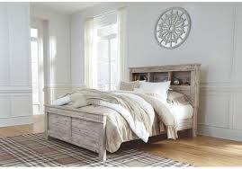 Willabry Bookcase Queen Bed - CLEARANCE,Ashley Furniture,Beds and Headboards,schleider-furniture-company