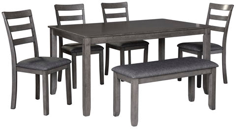Ashley Bridson Dining Set, 6 pieces